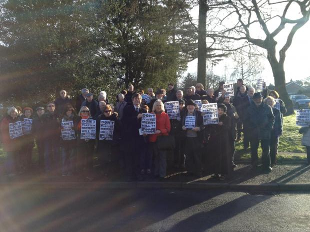 Bushey residents celebrate planning refusal for 'completely inappropriate and unacceptable' flats