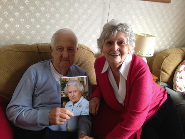Hard-boiled egg and cigarette leads to six decades of wedded bliss for Bushey couple