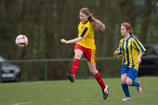 The Under-18s were held to a 2-2 draw by Harvesters Blues. Picture: Andrew Waller