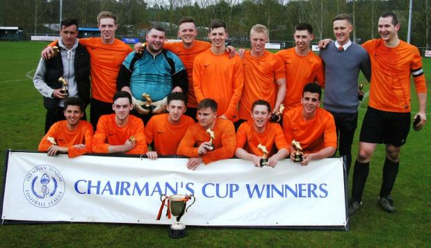 First silverware of the season in the bag: Chairman's Cup winners Hertfordshire Lions.
