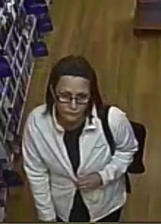 CCTV released following book theft from WH Smith