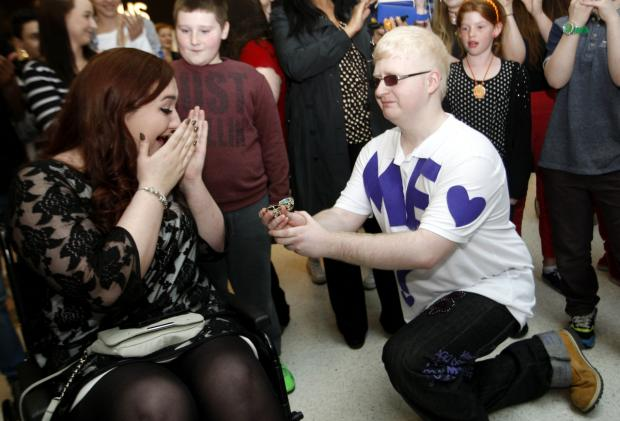 Watford Observer: Dancing engagement proposal takes over intu Watford - but does she say yes?