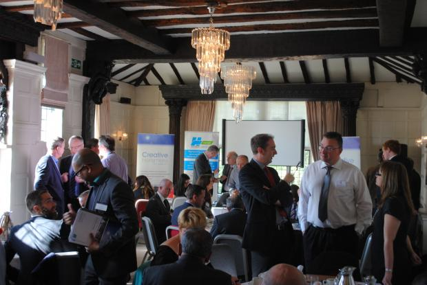 Businesses attend 'economic strategy' breakfast