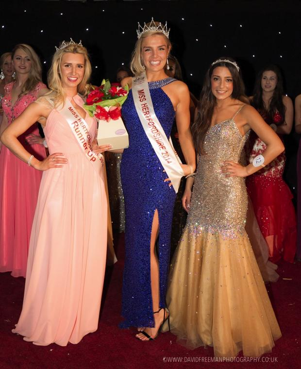 Watford Observer: Rickmansworth woman 'absolutely over the moon' at Miss Hertfordshire win