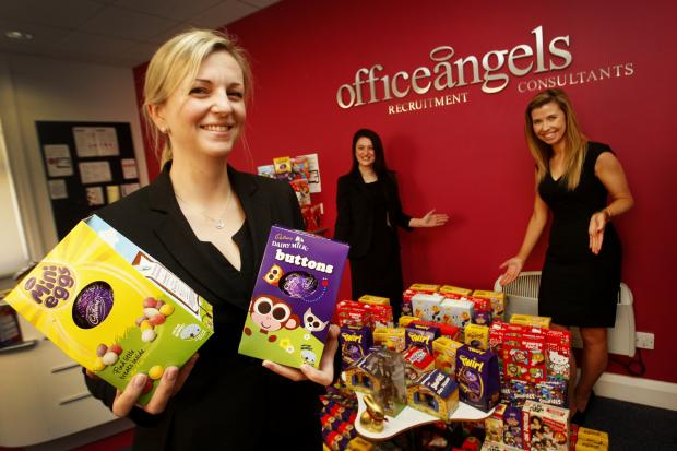 Hundreds of chocolate eggs donated to children's hospital ward