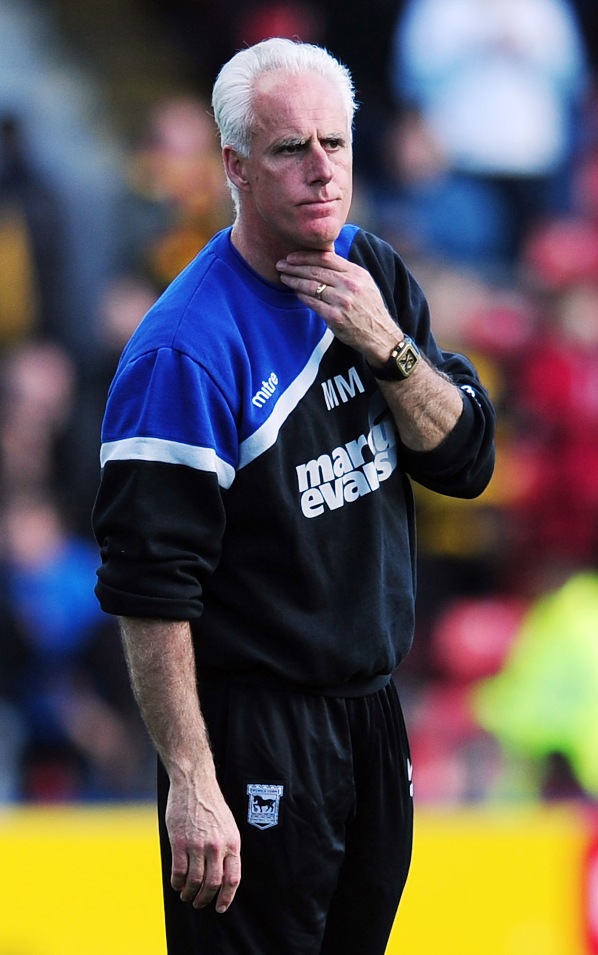 Mick McCarthy. Picture: Action Images