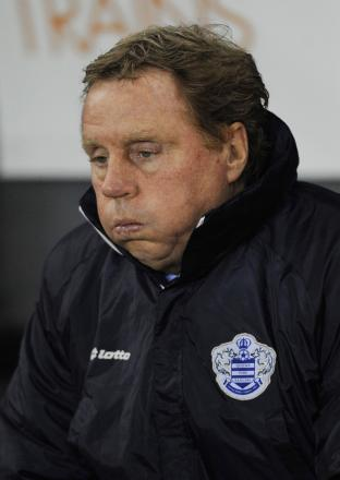 Harry Redknapp's side have underachieved this term considering the investment made. Picture: Action Images