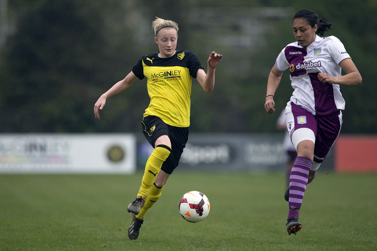 Jo Wilson was on target for the Golden Girls. Picture: Andy Rowland