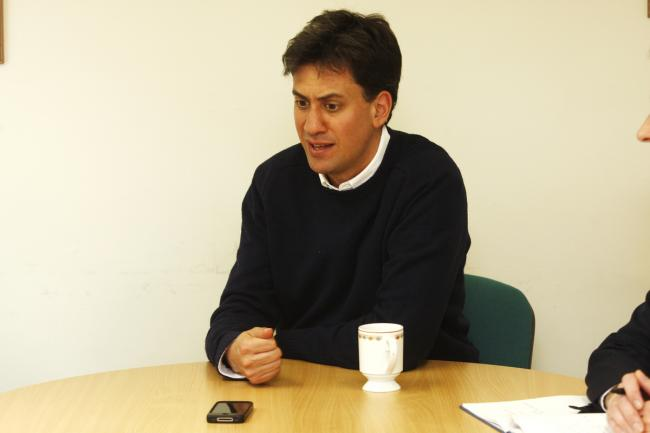 Ed Miliband: the people of Watford have been 'let down by poor investment' in town's hospital