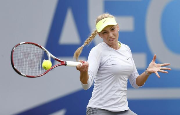 Watford Observer: Victory in the Malaysian Open on Sunday meant Donna Vekic became the youngest winner of the competition ever. Picture: Action Images