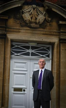 Headteacher Martin Post is set to leave the grammar school where he was a student and head boy in the 1970s.