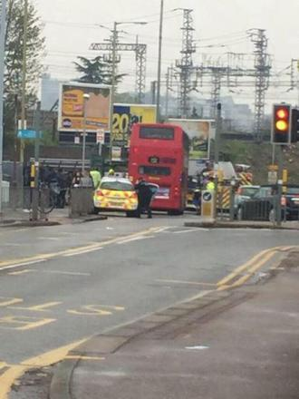 Teenager rushed to hospital following bus collapse