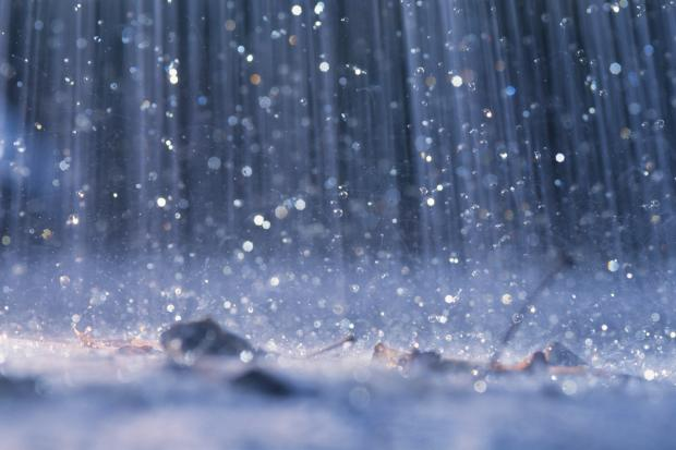 Weekend Weather: absolutely pouring with rain