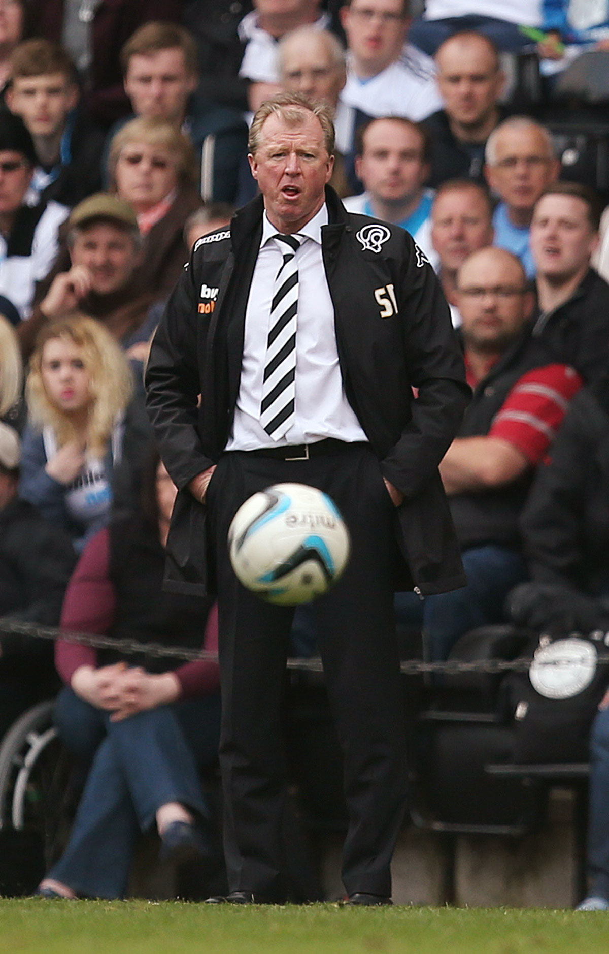 Rams boss Steve McClaren. Picture: Action Images