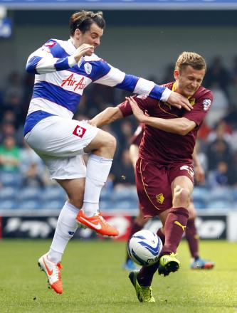 Almen Abdi missed yesterday's game with a knee injury. Picture: Action Images