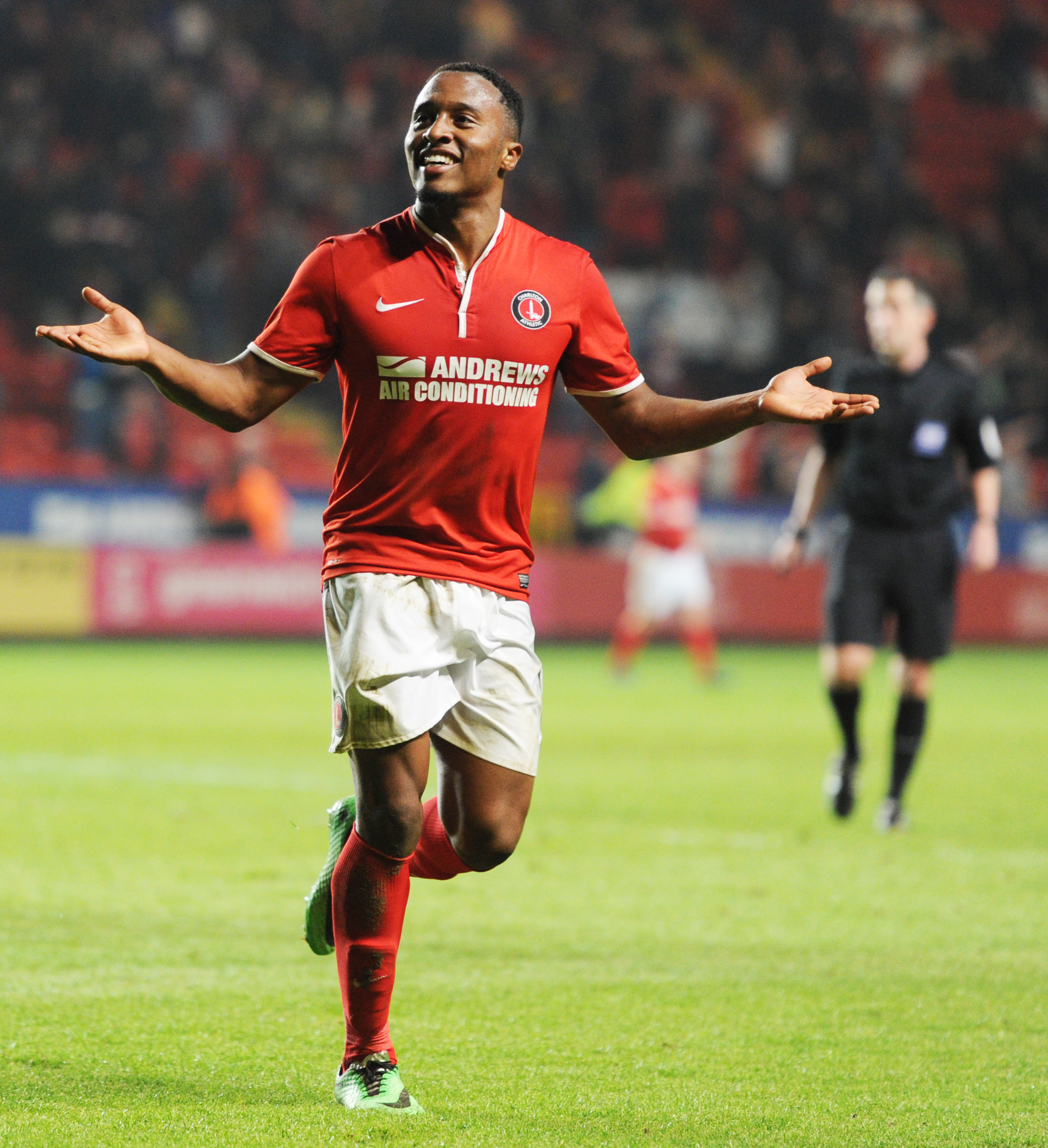 Callum Harriott scored twice during tonight's 3-1 win. Picture: Action Images