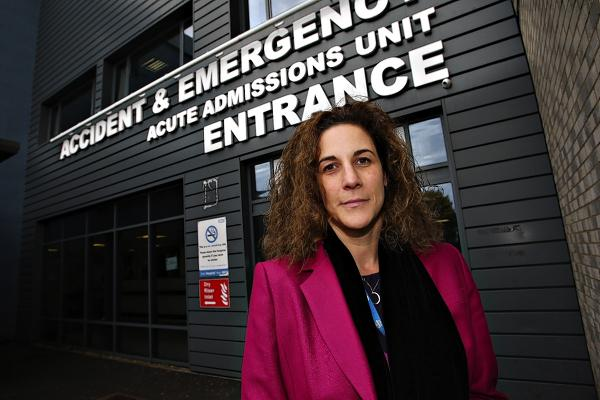 Failings in the urgent cancer referral system discovered shortly after chief executive Samantha Jones came to the trust