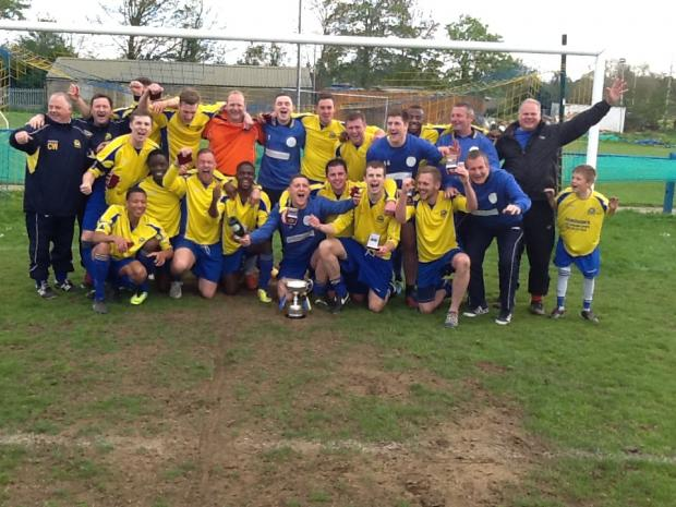 Watford Observer: Sun Postal Sports clinched the Spartan South Midlands Division One title on Saturday.