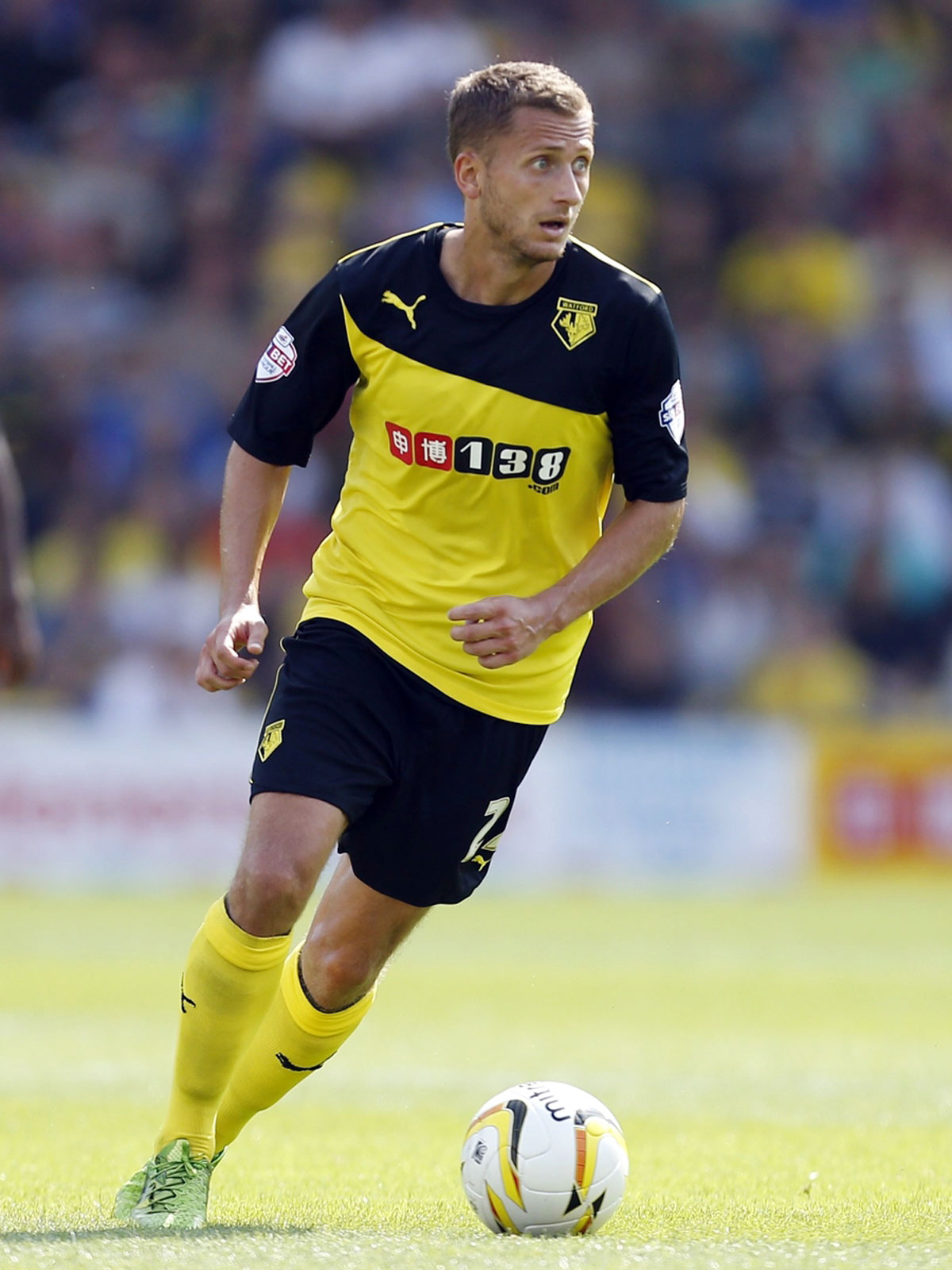 Almen Abdi is the reigning Watford Observer Player of the Season