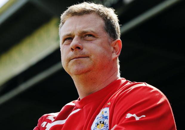 Huddersfield boss Mark Robins. Picture: Action Images