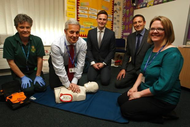 Croxley Green student given defibrillator training
