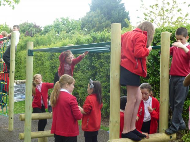 Pupils convince head teacher to buy new playground