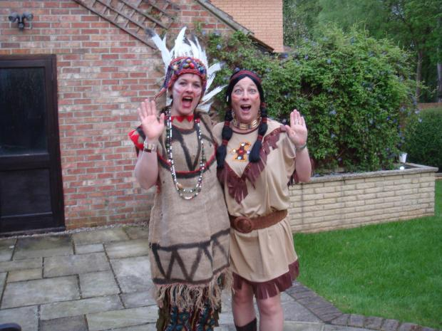 Bushey Breezers raise hundreds for charity with fancy-dress party