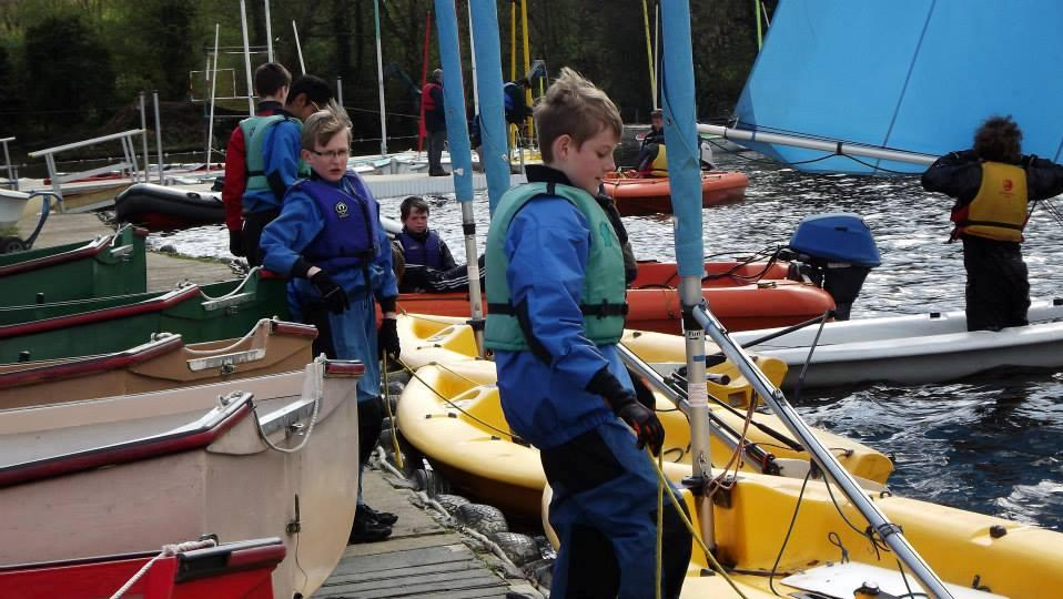 Sailing club given grant to fix damage wrought by storms