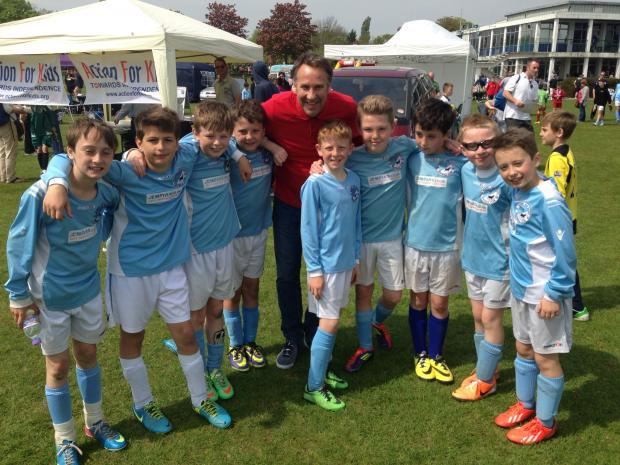 Hundreds take part in Bushey football tournament