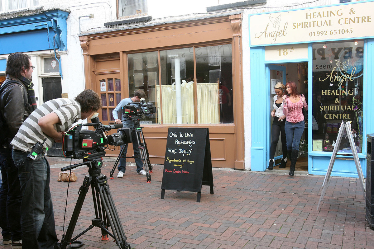 The Only Way is Essex being filmed in Waltham Abbey