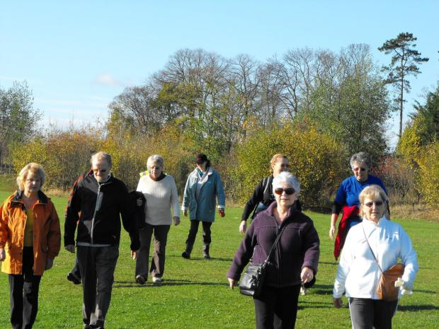 Take part in four free health-walks