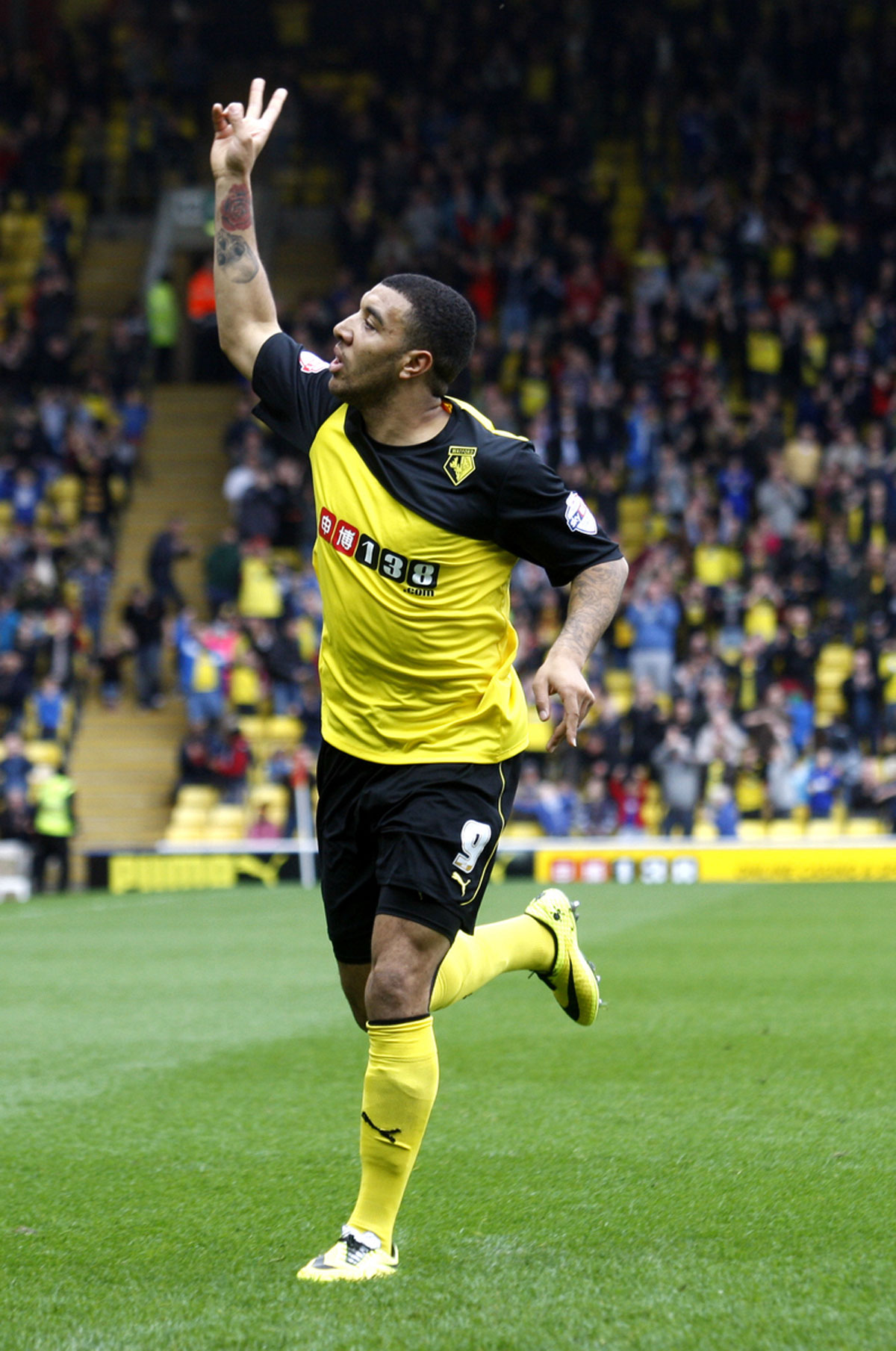 Statistically dominant: Troy Deeney