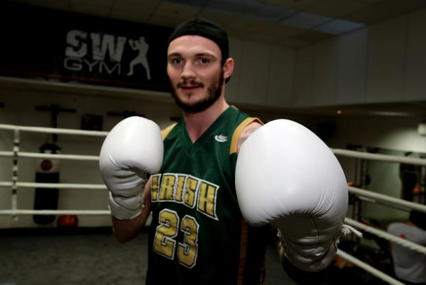 Miles Shinkwin faces Mitch Mitchell this Saturday. Picture: Ken Mears