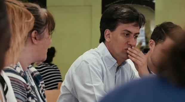 Ed Miliband claims Watford General 'desperately needs modernisation' in party political broadcast