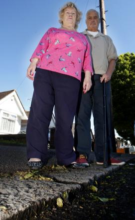 Watford pensioners forced to wade through 'Lake Ontario' due to lack of drainage