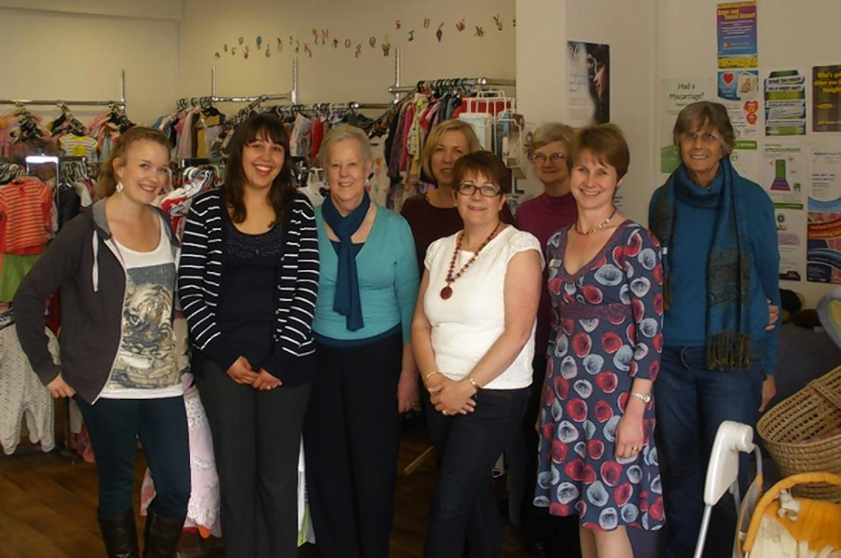 Watford mother and baby charity shop celebrates first birthday