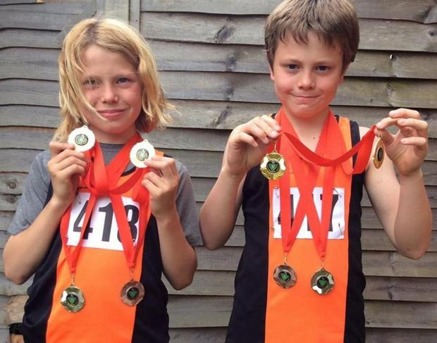 Eight-medal haul for Williams Twins at County Championships