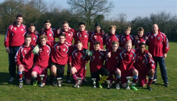 The successful Cassiobury Rangers Pumas side