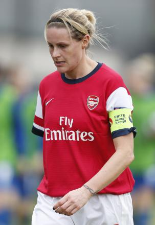 Kelly Smith returned to Arsenal for a third stint in 2012. Picture: Action Images