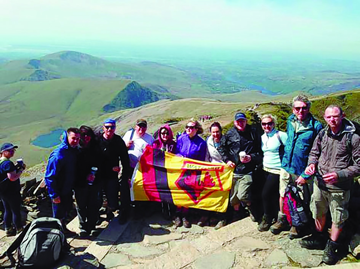 Climbers' Snowdon ascent raises £8k for Watford charities