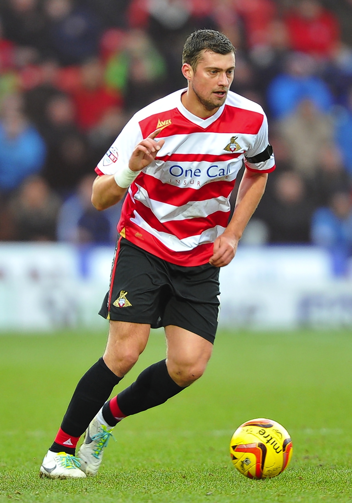 Gabriel Tamas impressed at Doncaster Rovers. Picture: Action Images