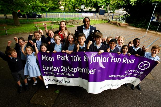 Ex-England captain Paul Ince launches Moor Park 10k