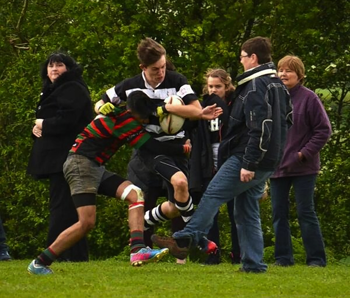 Fullerians rugby trip dad give two-year touchline ban
