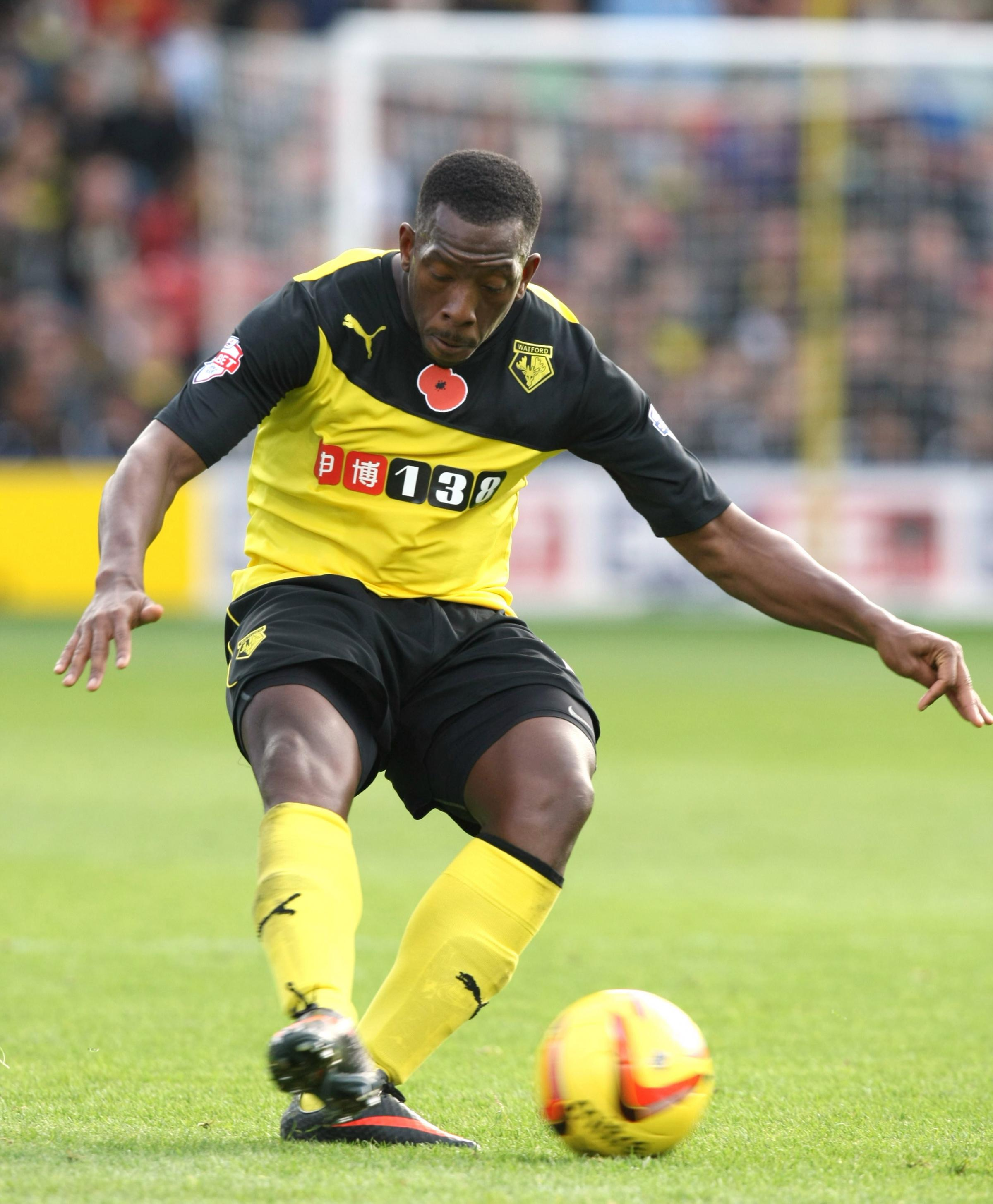 Lloyd Doyley won his eighth Jamaica cap in Wednesday's draw with Egypt. Picture: Action Images