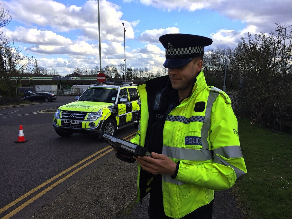 Hertfordshire police turn the tablets on criminals with wireless technology