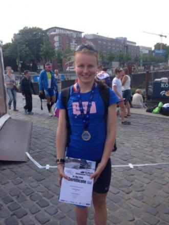 Kitchen takes silver for Great Britain in  European Aquathlon Championships
