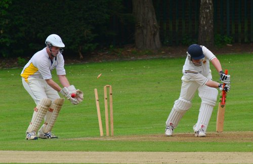 Langleybury in action against Flitwick. Picture: Len Kerswill