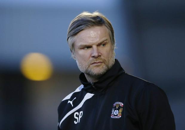 Coventry City manager Steven Pressley. Picture: Action Images