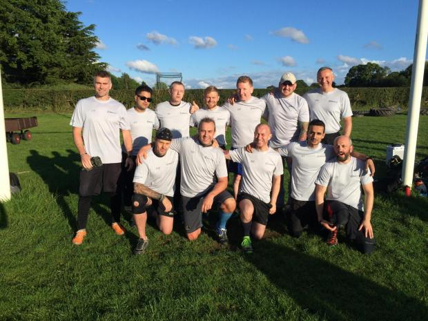 Group of 14 men to tackle Welsh peak for charity