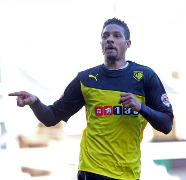 Watford Observer: Ranegie says he'll leave if Deeney remains with the Hornets. Picture: Dave Peters